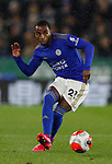Ricardo Pereira of Leicester City during the Premier League match at the King Power Stadium, Leicester. Picture date: 9th March 2020. Picture credit should read: Darren Staples/Sportimage