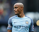Vincent Kompany of Manchester City during the English Premier League match at the Etihad Stadium, Manchester. Picture date: May 13th 2017. Pic credit should read: Simon Bellis/Sportimage