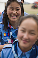 Over 330 participants where traveling to the Jamboree with founds from the Operation One World initiative. Photo: Jonas Elmqvist/Scouterna
