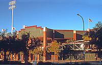 Ballparks: Phoenix, AZ. Scottsdale Stadium, 1992. Home of the PCL Phoenix Firebirds, 1992-96.