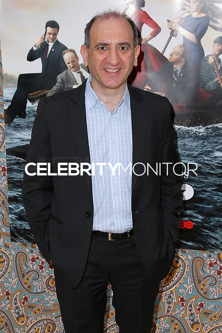 """HOLLYWOOD, LOS ANGELES, CA, USA - MARCH 24: Armando Iannucci at the Los Angeles Premiere Of HBO's """"Veep"""" 3rd Season held at Paramount Studios on March 24, 2014 in Hollywood, Los Angeles, California, United States. (Photo by Xavier Collin/Celebrity Monitor)"""