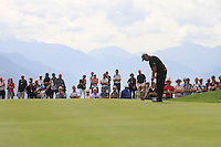 Darren Clarke (NIR) on the 8th on the 1st day of the Omega European Masters, Crans-Sur-Sierre, Crans Montana, Switzerland..Picture: Golffile/Fran Caffrey..