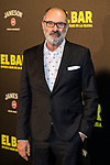 """Joaquin Climent  attends the premiere of the film """"El bar"""" at Callao Cinema in Madrid, Spain. March 22, 2017. (ALTERPHOTOS / Rodrigo Jimenez)"""