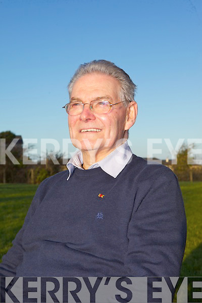 Tomi Reichental took some time out after he who told of the horrors he'd witnessed as a nine year old boy during the Holocaust at a special visit to Mean Scoil an Leith Triuigh Castlegregory on Friday afternoon.