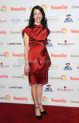 NEW YORK, NY - FEBRUARY 06: Woman's Day Publisher and CRO Kassie Means attends  the Woman's Day Celebrates 15th Annual Red Dress Awards on February 6, 2018 in New York City.  Credit: John Palmer/MediaPunch