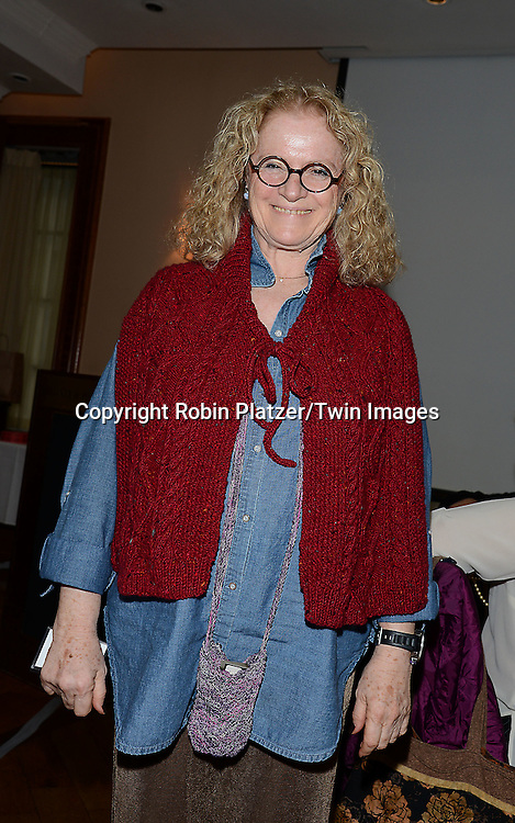 Norine Grodin attends the Big Apple Knitters Guild Luncheon on September 20, 2014 at Maloney &amp; Porcelli in New York City.<br /> <br /> photo by Robin Platzer/Twin Images<br />  <br /> phone number 212-935-0770