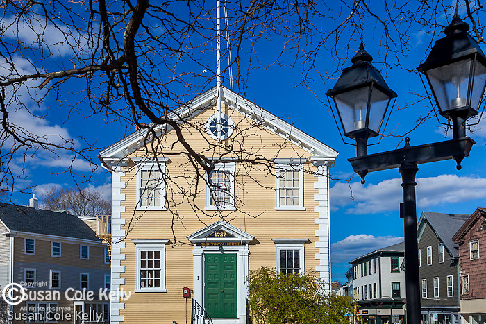 The Old Town House, Marblehead, Massachusetts, USA