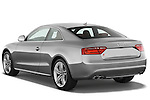 Rear three quarter view of a 2007 - 2011 Audi S5 Coupe.