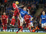 23.08.2018 Rangers v Ufa: Kyle Lafferty booked for this challenge