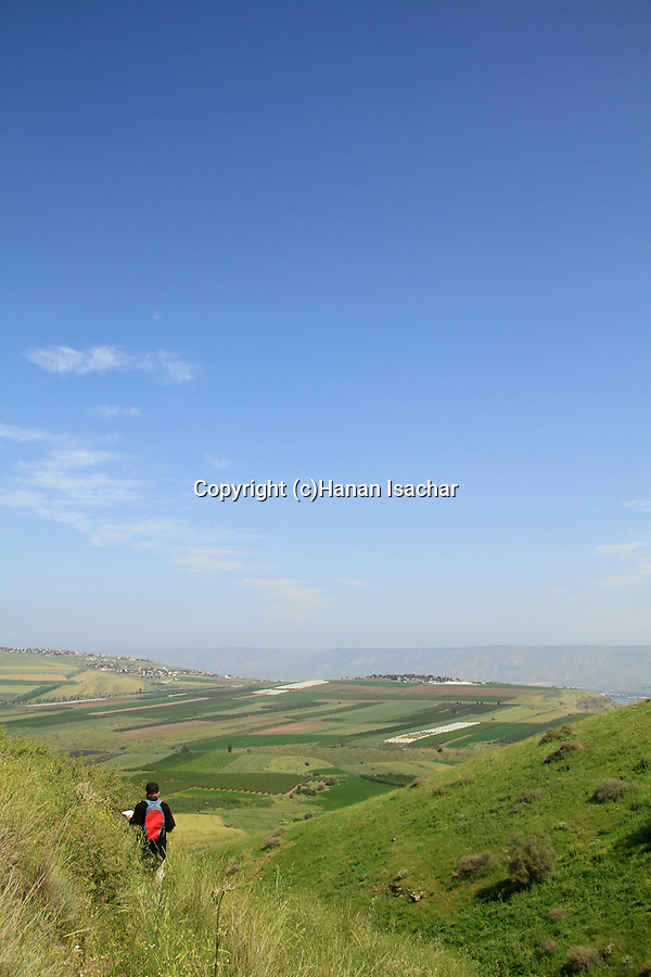 Israel, Yavne'el valley in the Lower Galilee