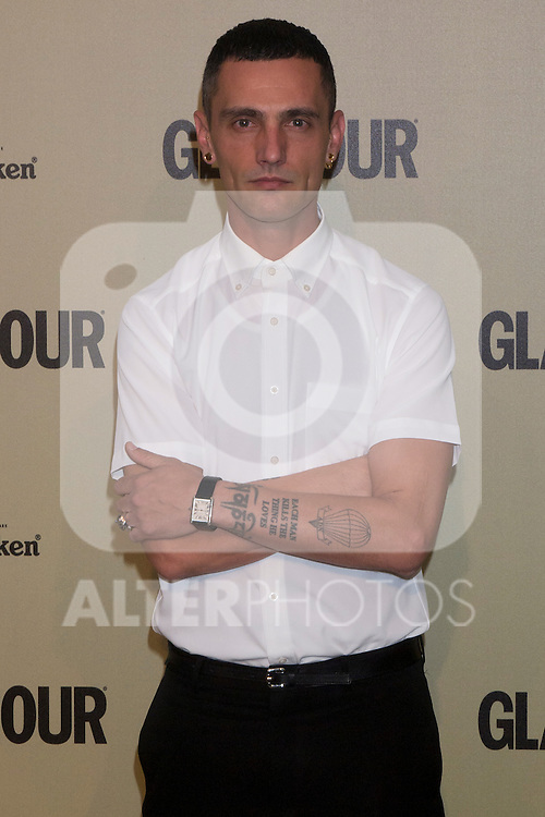 26.06.2012. 10th Anniversary of Glamour Magazine at the Embassy of Italy in Madrid. In the image David Delfin (Alterphotos/Marta Gonzalez)
