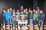 Skellig Rangers U12's pictured with Declan O'Sullivan & Sam Maguire at a medal presentation on Thursday night for wining the South Kerry League(Go Games), pictured front l-r; Darren Reardon, Stephen Reardon, Aaron O'Sullivan, Sean Kennedy, Ardan O'Connor, Ríona Moran, Keith Brennan, back l-r; Mary Ellen Bolger, Rachel Devane, Clíona Murphy, Emily O'Sullivan, Fionán Hussey, Cian O'Sullivan, Stephen Keating, Michael Murphy, Fionán O'Sullivan & Cian O'Dowd, missing from photo were Adam Casey & Jonathan Gross.