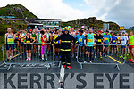 Fireman Chris Price from Kanturk who ran half marathon in full uniform in aid of Muscular Dystrophy Ireland pictured at the start line of The Gleneagle Hotel Run Killarney 2018 at Molls Gap last Saturday morning.