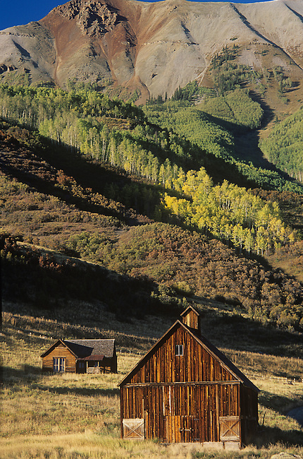 Old Barn & House in Southwestern Colorado