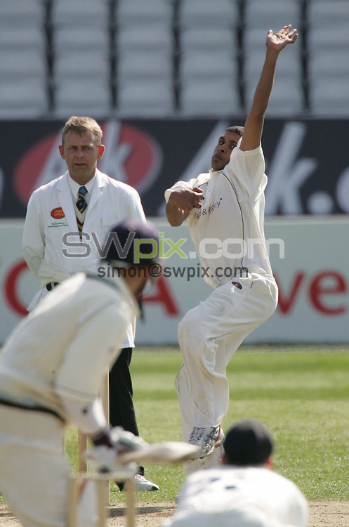 PICTURE BY Ben Duffy-Yorkshire County Cricket Club pre season friendly v Durham, Headingley, Leeds- 11/04/07..Copryright-SWpix 01943608782..Yorkshire's Adil Rashid