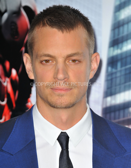 WWW.ACEPIXS.COM<br /> <br /> February 10 2014, New York City<br /> <br /> Joel Kinnaman arriving at the Los Angeles premiere of 'Robocop' at TCL Chinese Theatre on February 10, 2014 in Hollywood, California<br /> <br /> By Line: Peter West/ACE Pictures<br /> <br /> <br /> ACE Pictures, Inc.<br /> tel: 646 769 0430<br /> Email: info@acepixs.com<br /> www.acepixs.com