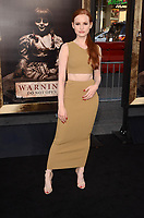 HOLLYWOOD, CA - AUGUST 7: Madelaine Petsch at the Annabelle: Creation premiere at the TCL Chinese Theater in Hollywood , California on August 7, 2017. <br /> CAP/MPI/DE<br /> &copy;DE/MPI/Capital Pictures