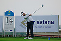 Adrien Bernardet (FRA), European Challenge Tour, Kazakhstan Open 2014, Zhailjau Golf Club, Almaty, Kazakhstan. (Picture Credit / Phil Inglis)