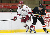 Hillary Crowe (Harvard - 8), Brianne Mahoney (Princeton - 17) - The Harvard University Crimson defeated the visiting Princeton University Tigers 4-0 on Saturday, October 26, 2013, at Bright-Landry Hockey Center in Cambridge, Massachusetts.
