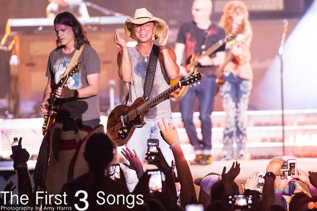 Kenny Chesney performs onstage during The Tortuga Music Festival in Fort Lauderdale, Florida.