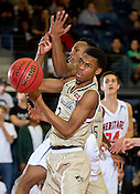 Bentonville at Rogers Heritage basketball 2/23/16