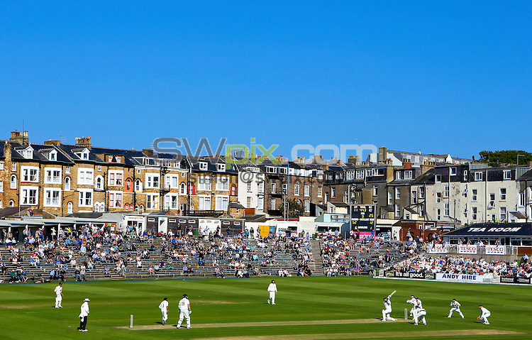 PICTURE BY ALEX WHITEHEAD/SWPIX.COM - Cricket - LV County Championship Division 1 - Yorkshire vs Nottinghamshire - Day 2 - North Marine Road, Scarborough, England - 06/06/13 - GV, General View.