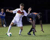 The Winthrop University Eagles lose 2-1 in a Big South contest against the Campbell University Camels.  Cody Winter (2), Isaiah Page (21)