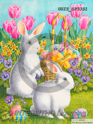 Ingrid, EASTER, OSTERN, PASCUA, paintings+++++,USISSP33S1,#e#, EVERYDAY ,rabbits