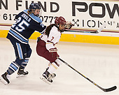 Nicole Arnold (Maine - 25), Kristyn Capizzano (BC - 7) - The Boston College Eagles defeated the visiting University of Maine Black Bears 2-1 on Saturday, October 8, 2016, at Kelley Rink in Conte Forum in Chestnut Hill, Massachusetts.  The University of North Dakota Fighting Hawks celebrate their 2016 D1 national championship win on Saturday, April 9, 2016, at Amalie Arena in Tampa, Florida.