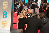 London, UK. 14 February 2016. Kate Winslet and Michael Fassbender. Red carpet arrivals for the 69th EE British Academy Film Awards, BAFTAs, at the Royal Opera House. © Vibrant Pictures/Alamy Live News