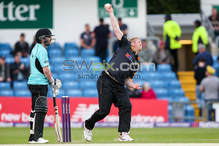 Picture by Alex Whitehead/SWpix.com - 05/06/2015 - Cricket - NatWest T20 Blast - Yorkshire Vikings v Lancashire Lightning - Headingley Cricket Ground, Leeds, England - A League Of Their Own, Matthew Hoggard.