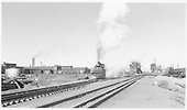 D&amp;RGW #498 at the east end of the Alamosa Yards.<br /> D&amp;RGW  Alamosa, CO  Taken by Richardson, Robert W. - 4/20/1952