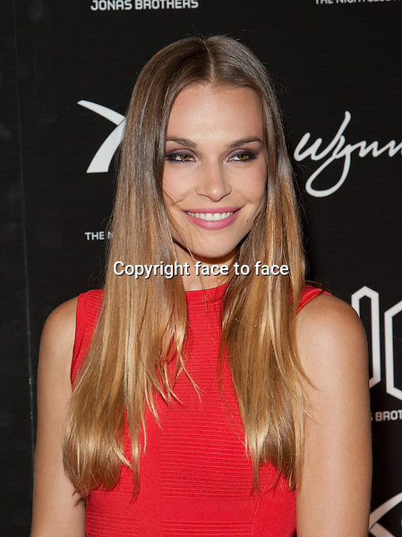 LAS VEGAS, NV - SEPTEMBER 15: Blanda Eggenschwiler pictured at the 21st birthday celebration for Nick Jonas at XS in Las Vegas, Nevada. September 15, 2013. Credit Kabik / Starlitepics/MediaPunch Inc.<br />