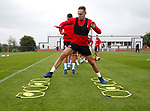 Chris Hussey of Sheffield Utd during the training session at the Shirecliffe Training complex, Sheffield. Picture date: June 27th 2017. Pic credit should read: Simon Bellis/Sportimage