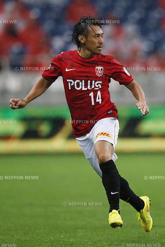 Tadaaki Hirakawa (Reds),<br /> July 19, 2014 - Football /Soccer : <br /> 2014 J.LEAGUE Division 1 match<br /> between Urawa Reds 1-0  Albirex Niigata<br /> at Saitama Stadium 2002, Saitama, Japan. <br /> (Photo by Shingo Ito/AFLO SPORT) [1195]