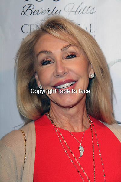 BEVERLY HILLS, CA - February 05: Linda Thompson at Experience East Meets West honoring Beverly Hills' momentous centennial year, Crustacean, Beverly Hills, February 05, 2014.<br />