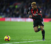 2nd February 2019, Cardiff City Stadium, Cardiff, Wales; EPL Premier League football, Cardiff City versus AFC Bournemouth; Jordon Ibe of Bournemouth makes a run into the box