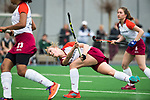 ALMERE - Hockey - Overgangsklasse competitie dames ALMERE- ROTTERDAM (0-0) .  Puck Hooier (Almere)  COPYRIGHT KOEN SUYK