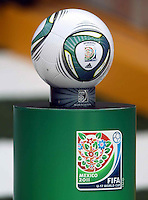 .Action photo of the ADIDAS Speedcell ball, during game of the FIFA Under 17 World Cup game, held at  Torreon.
