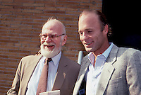 Ed Harris & Agent John Springer 1987 by<br />
