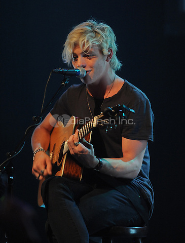 New York,NY-June 9: Ross Lynch attend the Pop/Rock Sensation R5 and Ring Pop Premiere #RockThatRock Music Video at Gramercy Theatre in New York City on June 9, 2014. Credit: John Palmer/MediaPunch