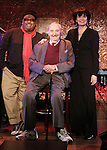 Stew, Fyvush Finkel and Beth Leavel attend a Special Press Preview at 54 Below on February 21, 2014 in New York City.