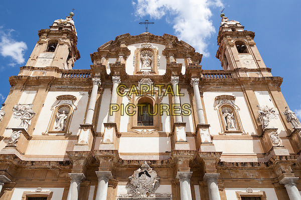 San Domenico Church, Piazza San Domenico, Palermo, Sicily, Italy<br /> August 2015<br /> CAP/MEL<br /> &copy;MEL/Capital Pictures