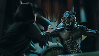 The Shape of Water (2017) <br /> Doug Jones &amp; Sally Hawkins<br /> *Filmstill - Editorial Use Only*<br /> CAP/MFS<br /> Image supplied by Capital Pictures