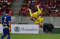RECIFE-PE-29.06.2016-JOGO DO BEM-PE-  Gol de Hernane durante evento Jogo do Bem realizado na Arena Pernambuco, zona oeste da Grande Recife, nesta quarta-feira, 29.  (Foto: Jean Nunes/Brazil Photo Press)