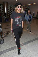 **ALL ROUND PICTURES FROM SOLARPIX.COM**<br /> **SOLARPIX RIGHTS - UK, AUSTRALIA, DENMARK, PORTUGAL, S. AFRICA, SPAIN &amp; DUBAI (U.A.E) &amp; ASIA (EXCLUDING JAPAN) ONLY**<br /> Caption:<br /> Rita Ora Sighted at LAX Airport <br /> <br /> **UK ONLINE USAGE FEE 1st PIC-&pound;40, 2nd PIC-&pound;20, THEN &pound;10 PER PIC INCLUDING VIDEO GRABS. - NO PRICE CAP - VIDEO &pound;50**<br /> JOB REF:20269   PHZ/STPR  DATE:11.07.17<br /> **MUST CREDIT SOLARPIX.COM AS CONDITION OF PUBLICATION**<br /> **CALL US ON: +34 952 811 768**
