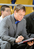 Florida International University Assistant Coach Scott Adubato during the game against Troy University, which won the game 75-70 in overtime on February 23, 2012 at Miami, Florida. .