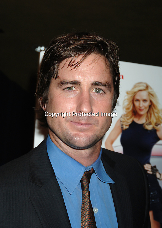 "Luke Wilson..at The World Premiere of "" My Super Ex-Girlfriend"" starring Uma Thurman and Luke Wilson on ..July 12, 2006 at The Clearview Chelsea 23rd Street Theatre. ..Robin Platzer, Twin Images"