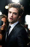 "WESTWOOD, CA. - November 16: Robert Pattinson arrives at ""The Twilight Saga: New Moon"" premiere held at the Mann Village Theatre on November 16, 2009 in Westwood, California."