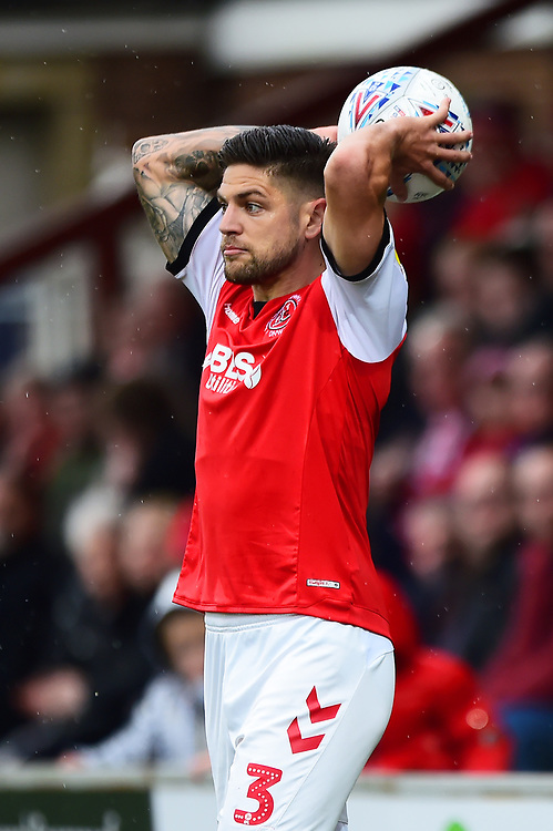 Fleetwood Town's Danny Andrew in action<br /> <br /> Photographer Richard Martin-Roberts/CameraSport<br /> <br /> The EFL Sky Bet League One - Fleetwood Town v Ipswich Town - Saturday 5th October 2019 - Highbury Stadium - Fleetwood<br /> <br /> World Copyright © 2019 CameraSport. All rights reserved. 43 Linden Ave. Countesthorpe. Leicester. England. LE8 5PG - Tel: +44 (0) 116 277 4147 - admin@camerasport.com - www.camerasport.com